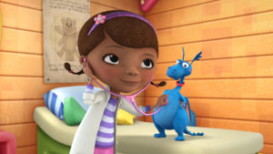pediatrician's letter to doc mcstuffins