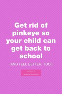 Pinkeye in Children