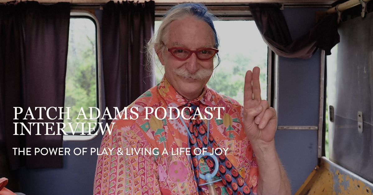 Laughing matter: real-life 'patch adams' brings humor therapy.