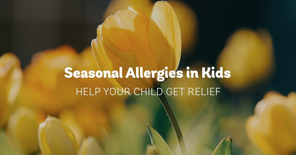 Seasonal Allergies in Kids