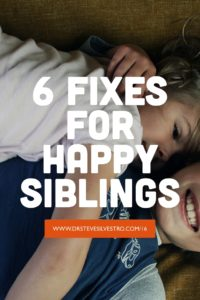 Raising Happy Siblings