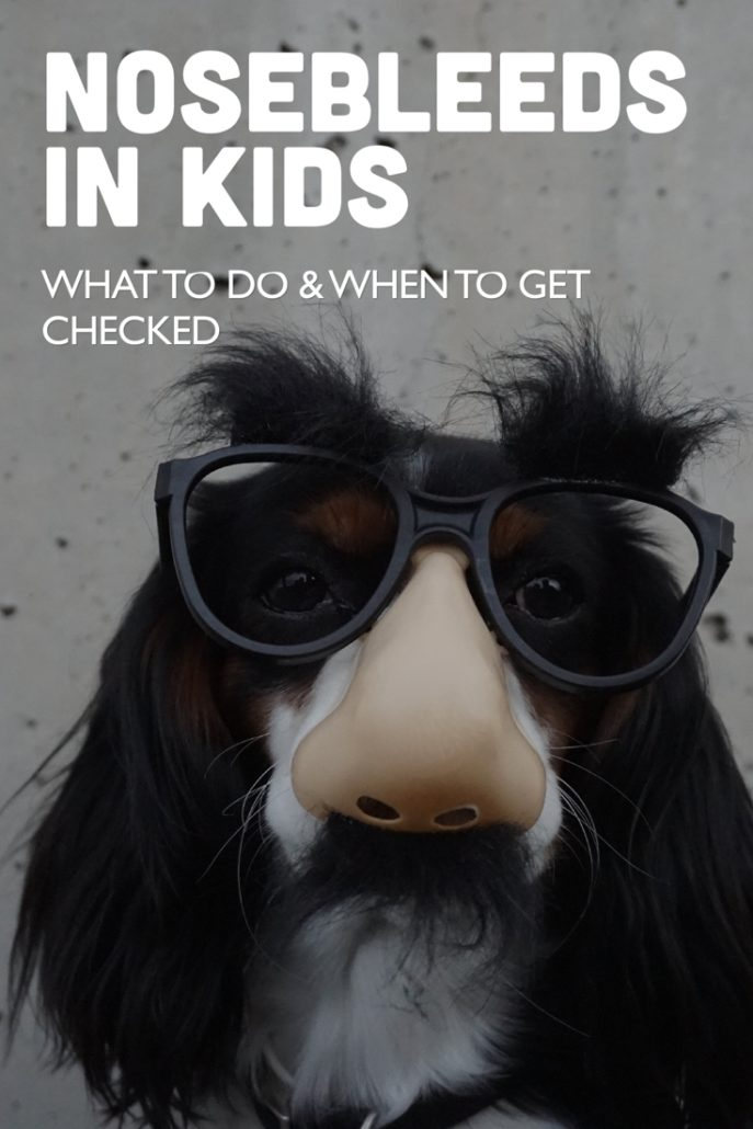 Nosebleeds in Kids: What to Do & When to Get Checked
