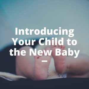 Introducing Your Child to the New Baby