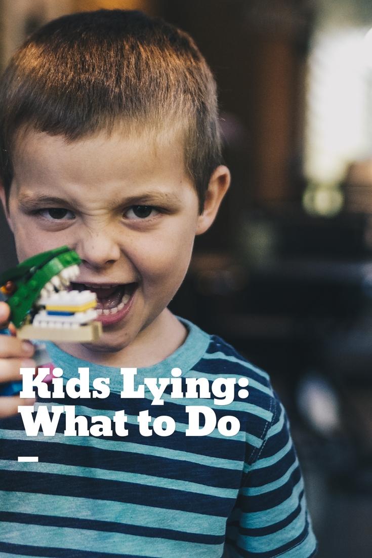 kids lying