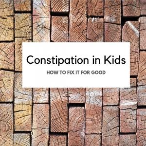 Constipation in Kids