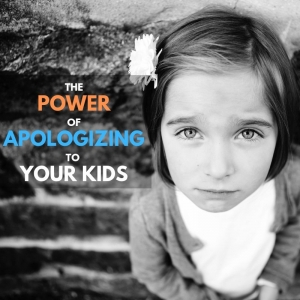 power of apologizing