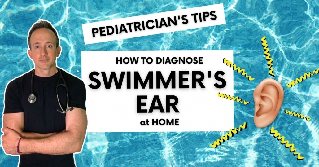 how to diagnose swimmer's ear