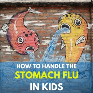 stomach flu in kids
