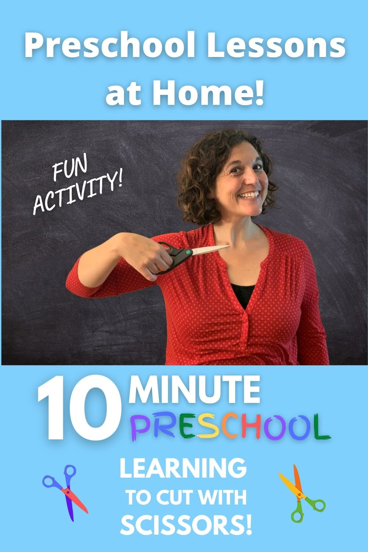 Fun Cutting Activity for Preschoolers!