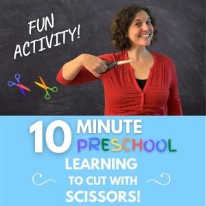 fun cutting activity for preschoolers